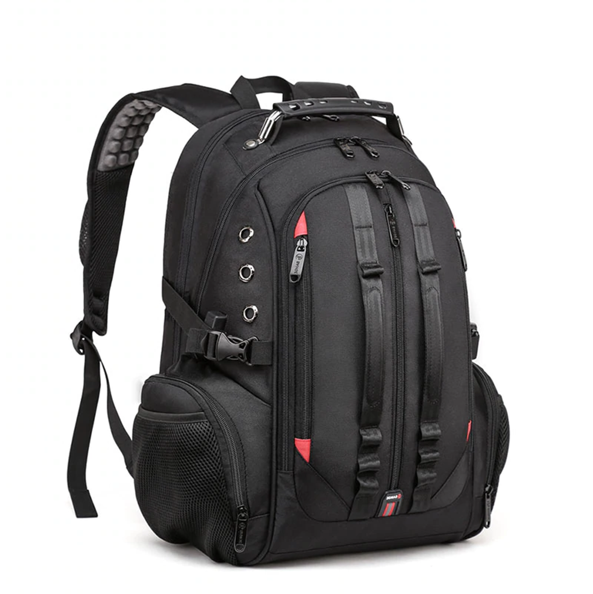 LAPTOP BACKPACK OUTDOOR SCHOOL DAY PACK BAG BANGE BG1901 – BLACK (1)
