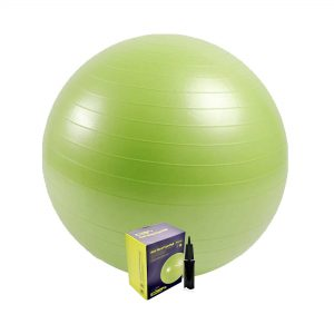 MDBUDDY MD1225 ANTI BRUST YOGA EXERCISE STABILITY GYM BALL – GREEN 75CM