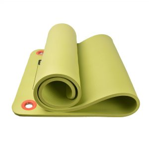 MDBUDDY MD9004 NBR PILATES YOGA MAT WITH HOLE 12.5MM THICKNESS – GREEN