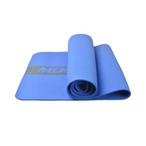 MDBUDDY MD9041 HIGH ELASTIC RUBBER PILATES YOGA MAT 6MM THICKNESS – BLUE
