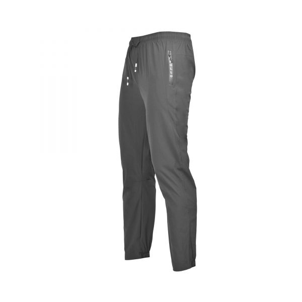 MENS SPORTS CASUAL RUNNING TRAINING LIGHT WEIGHT EARLY WINTERS MICRO TWILL TROUSER PANT APOLLO 93M350P – GRAY (5)