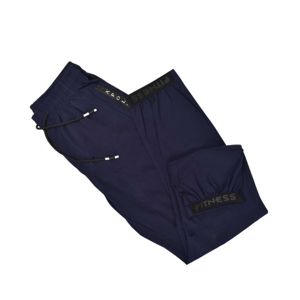 MENS SPORTS CASUAL RUNNING TRAINING LIGHT WEIGHT EARLY WINTERS MICRO TWILL TROUSER PANT APOLLO 93M350P – NAVY BLUE (6)