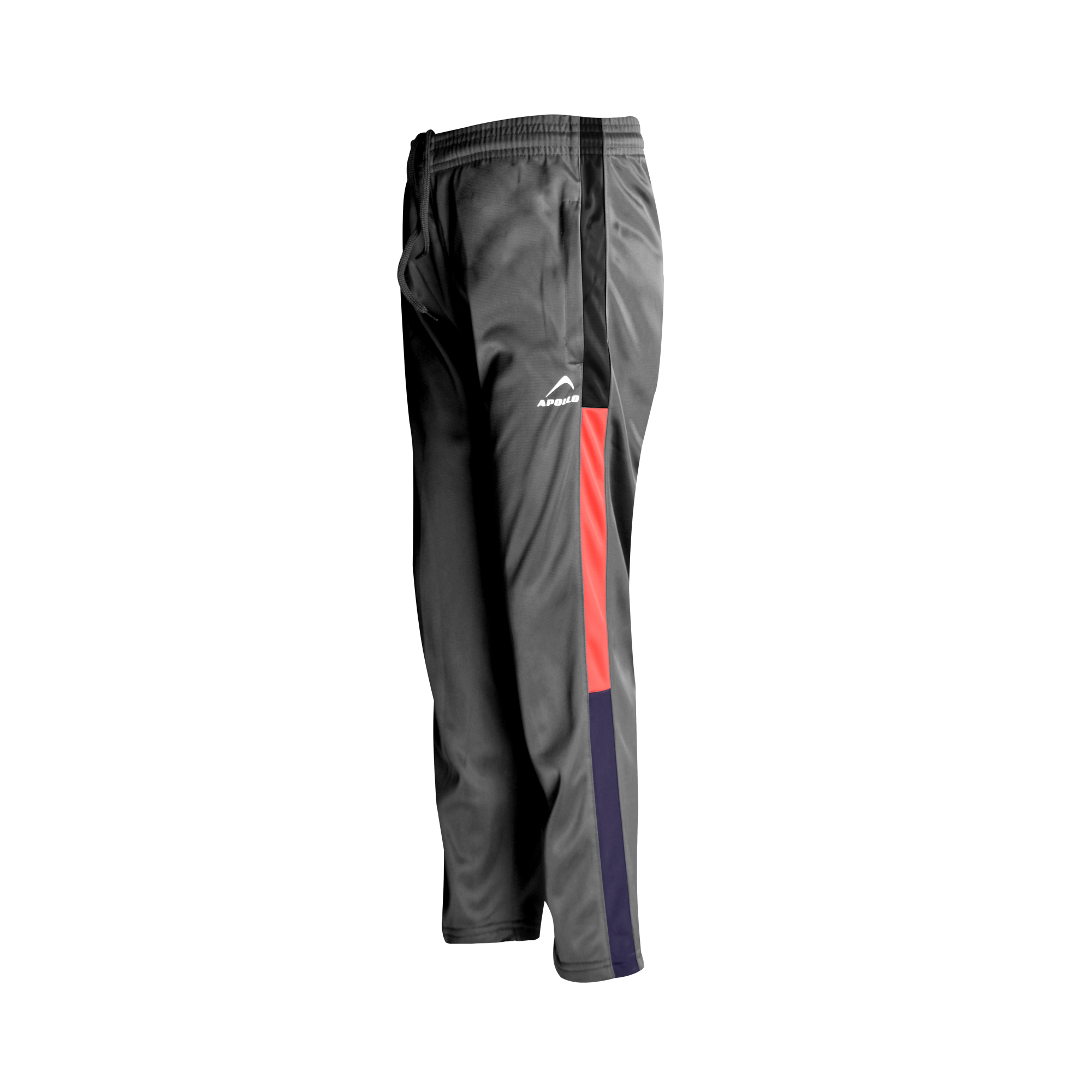 BOYS SPORTS CASUAL RUNNING TRAINING TRICOT TRINDA TROUSER PANT WINTER 19 APOLLO 93B211 - DARK GRAY