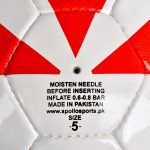 FOOTBALL HAND STITCH SOCCER MATCH BALL APOLLO 0FUMT5 (4)