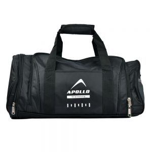 GYM DUFFLE BAG SPORTS SHOULDER CROSS BAG APOLLO 9BGD15 - BLACK