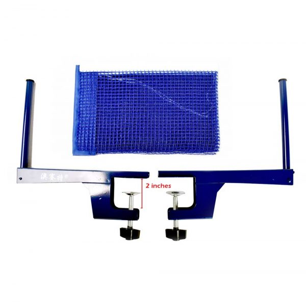 TT TABLE TENNIS NET & POST SET PING PONG TABLE NET AND POST AOSAITE – P304 (2)
