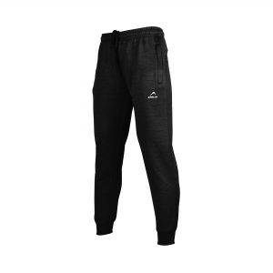 WOMENS SPORTS CASUAL TRAINING POLYESTER TERRY FLEECE PANT TROUSER WINTER 19 APOLLO 93W110 - BLACK