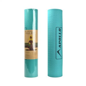YOGA EXERCISE MAT APOLLO FA0705 TPE MATERIAL 06MM THICKNESS - AQUA