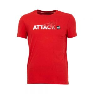 ERKE MENS CREW NECK T SHIRT CASUAL AND TRAINING TEE 11220291019 - RED
