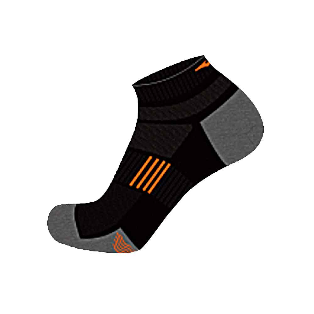ERKE MENS OVER ANKLE SPORTS SOCKS 11320112025 – BLACK