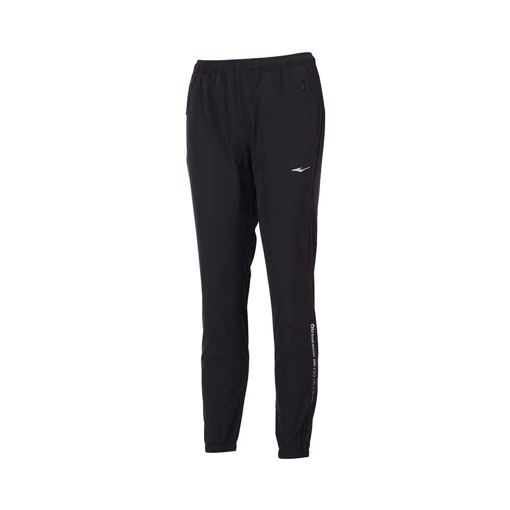 ERKE WOMENS SPORTS PANT RUNNING TRAINING CASUAL TROUSER 12220153415 - BLACK